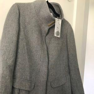 Grey Mango Coat New with Tags